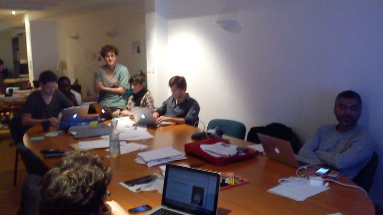 L'équipe web de la campagne numérique d'Eva Joly (DR)
