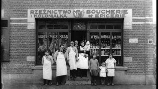 Boucherie-charcuterie,Kazimir Zgorecki 1920-1930 (CRP Hauts-de-France / Kazimir Zgorecki)
