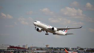 Un avion d'Air France, le 27 septembre 2019. (PASCAL PAVANI / AFP)