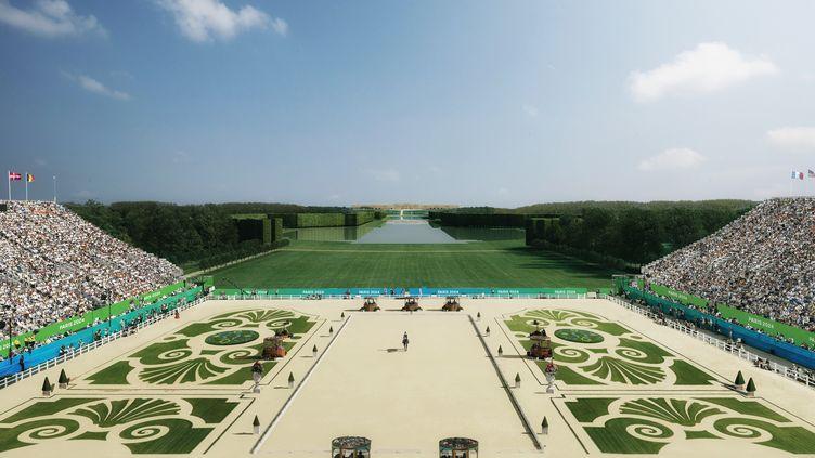 Les sports équestres et le pentathlon prendront place dans le parc du château de Versailles. (PARIS2024)