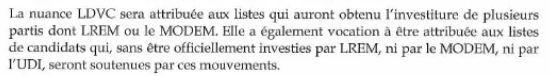 """Extrait de la """"circulaire Castaner"""" envoyée aux préfets avant les élections municipales des 15 et 22 mars 2020. (MINISTERE DE L'INTERIEUR)"""