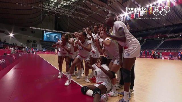 Après une magnifique rencontre des handballeuses françaises, Olivier Krumbholz est revenu sur le match de ses joueuses avec plein d'espoirs pour la suite ! Et pourquoi pas, déjà le rêve d'une médaille...