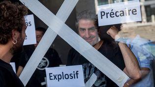 Intermittents le 23 juin 2014 à l'Opéra de Lyon  (CITIZENSIDE.COM / AFP)