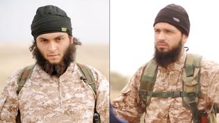 Le Français Maxime Hauchard, dans une vidéo diffusée par l'Etat islamique, le 16 novembre 2014. (AL-FURQAN MEDIA / AFP)
