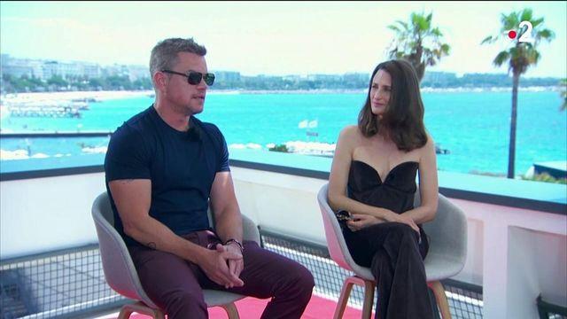Stillwater : Matt Damon et Camille invités sur le plateau du 20 heures de France 2