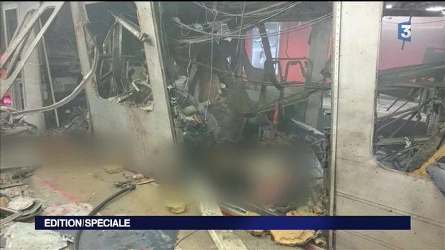 Attentats à Bruxelles : une station de métro visée près de la Comission européenne