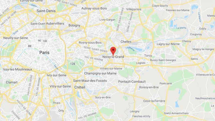 Noisy-le-Grand en Seine-Saint-Denis. (GOOGLE MAPS)
