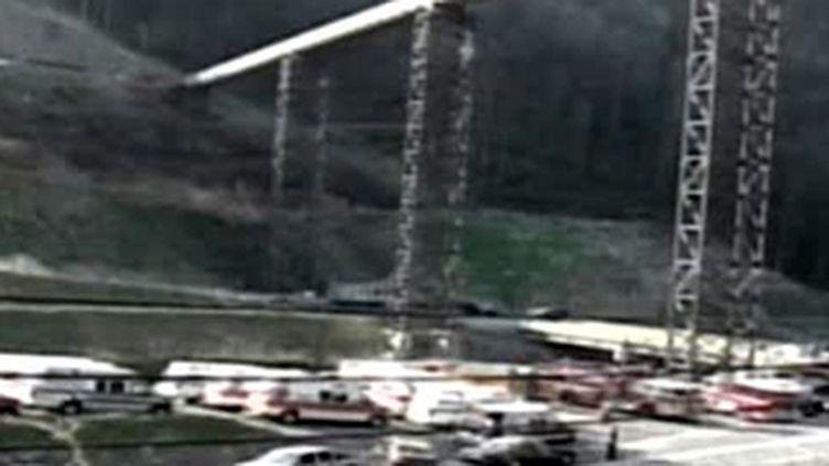 Explosion meurtrière dans à l'Upper Big Branch Mine située à Montcoal en Virginie occidentale