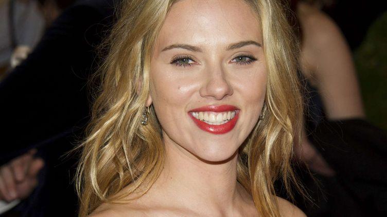 L'actrice américaine Scarlett Johansson, en mai 2012. (CHARLES SYKES / AP / SIPA)
