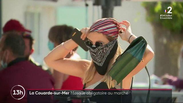 Charente-Maritime : port du masque obligatoire dans certains marchés de l'Île-de-Ré