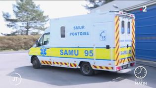 Un ambulance du Samu. (France 2)