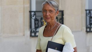 La ministre du Travail, Elisabeth Borne, le 19 juillet 2021, à Paris. (DANIEL PIER / NURPHOTO / AFP)
