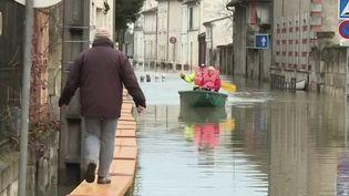 Inondations à Cognac. (FRANCE 2)