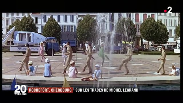 Sur les traces de Michel Legrand à Rochefort et Cherbourg