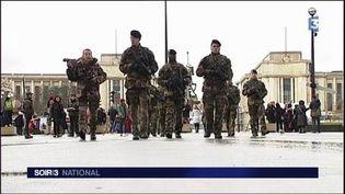 Un projet de loi antiterrorisme est à l'étude. (FRANCE 3)