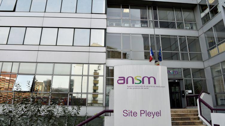 Le siège de l'Agence nationale de sécurité du médicament (ANSM) à Paris, le 17 octobre 2017. (ALAIN JOCARD / AFP)