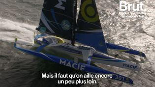 VIDEO. François Gabart, le navigateur écolo qui veut réduire son impact sur l'environnement (BRUT)