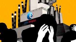 Franceinfo a enquêté sur le mal-être des salariés de Pôle Emploi depuis la fusion de l'ANPE et de l'Assedic. (FRANCEINFO)