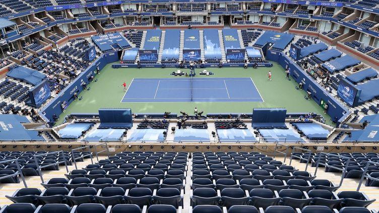 En 2020, l'US Open s'était déroulé complètement à huis clos. (AL BELLO / GETTY IMAGES NORTH AMERICA)