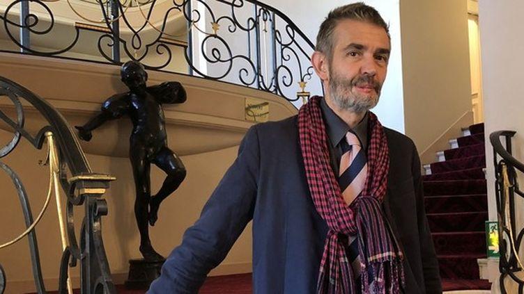 Philippe Lançon au sortir de la remise du prix Femina 2018. (Manon Botticelli)