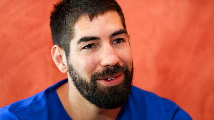 Nikola Karabatic, star et stratège de l'équipe de France de handball, en juin 2016 (SYLVAIN MUSCIO / MAXPPP)