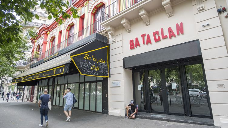 Guillaume Valette était présent au Bataclan le soir du 13 novembre 2015. (GARDEL BERTRAND / HEMIS.FR / AFP)