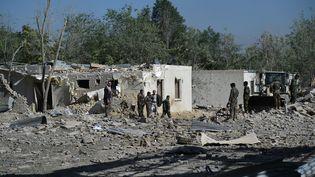 Une attaque à la voiture piégéeà Kaboul (Afghanistan), le2 juillet 2019. (WAKIL KOHSAR / AFP)