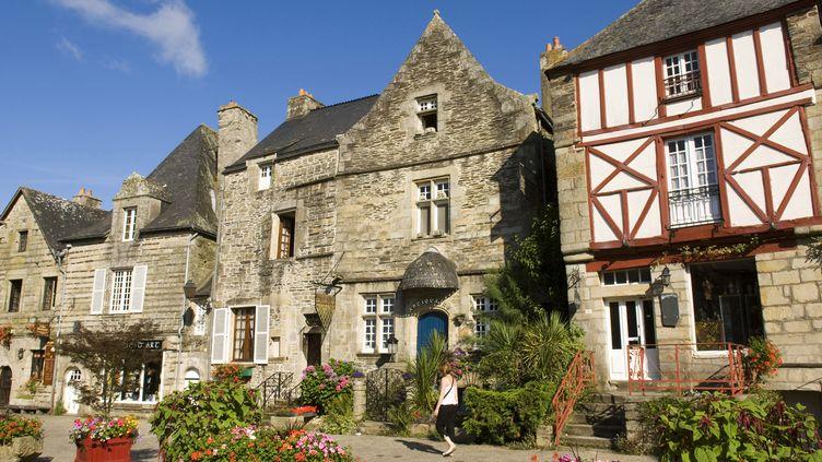 Le village de Rochefort-en-Terre (Morbihan), en avril 2017. (PHILIPPE ROY / PHILIPPE ROY)