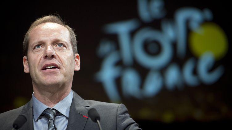 Christian Prudhomme, patron du Tour de France (LIONEL BONAVENTURE / AFP)