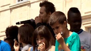 Greg Zlap et les écoliers  (France 3 / Culturebox)