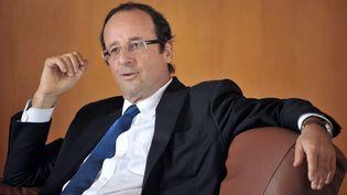 François Hollande, alors député de Corrèze, le 15 janvier 2011 à Tulle (Corrèze). (PIERRE ANDRIEU / AFP)