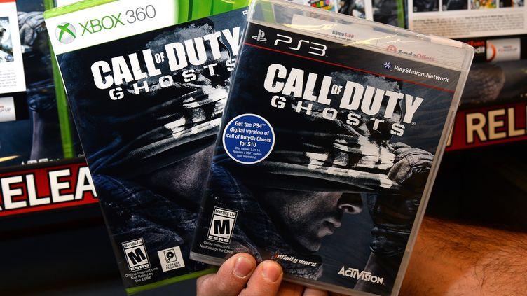 Dans le jeu Call of Duty, le joueur incarne un soldat. (ETHAN MILLER / GETTY IMAGES NORTH AMERICA / AFP)
