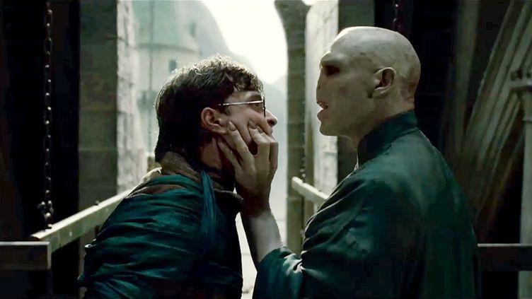 """Daniel Radcliffe et Ralph Fiennes dans """"Harry Potter et les reliques de la mort"""". (WARNER BROS)"""