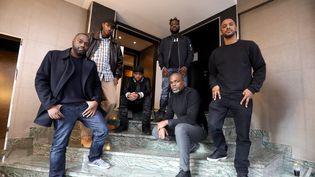 """Les Sages Poètes de la Rue, Matt Houston, Ménélik et Stomy Bugsy, fiers représentants de """"L'Âge d'Or du Rap français"""" (JEAN-BAPTISTE QUENTIN / MAXPPP)"""