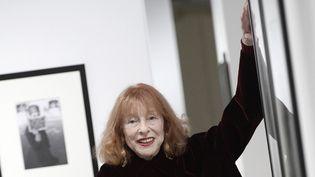 Bettina Graziani le 12 novembre 2014 à la galerie Alaïa (Paris)  (Stéphane de Sakutin / AFP)