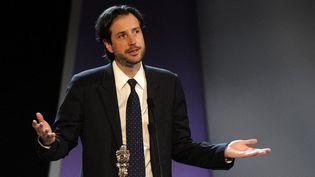 """Antonin Baudry lauréat du Prix du scénario au Festival de San Sebastien pour """"Quai d'Orsay"""" en 2013  (RAFA RIVAS / AFP)"""