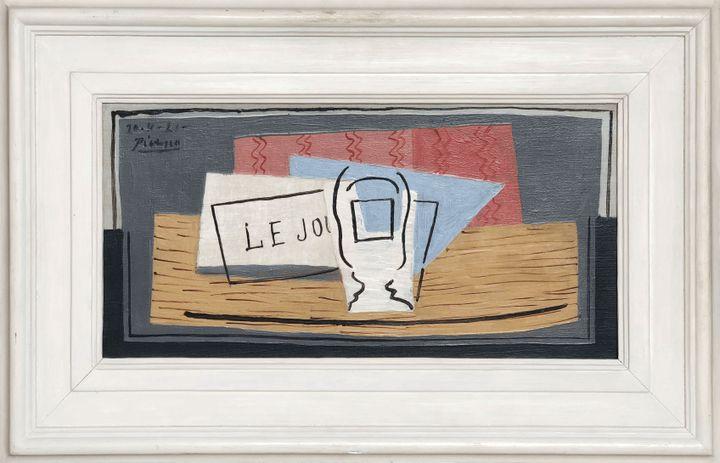 """Pablo Picasso, """"Nature morte"""", huile sur toile, 22,9 cm x 45,7 cm (© Succession Picasso, Paris, 2019)"""