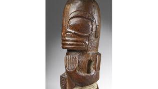 (Sculpture anthropomorphe - Copyright  : © musée du quai Branly, photo Claude Germain)