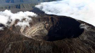 Le Piton de la Fournaise (La Réunion) a été placé en vigilance volcanique, le 1er novembre 2014. (  MAXPPP)