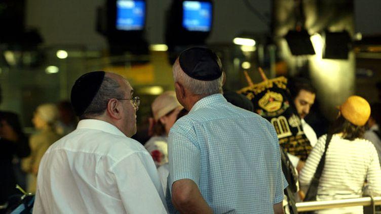 """(7.000 juifs français sont """"montés"""" l'an dernier en Israël. Du jamais vu depuis la création de l'Etat hébreu en 1948. © MaxPPP)"""