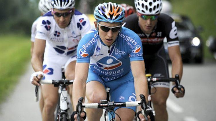 Cyril Gautier en action