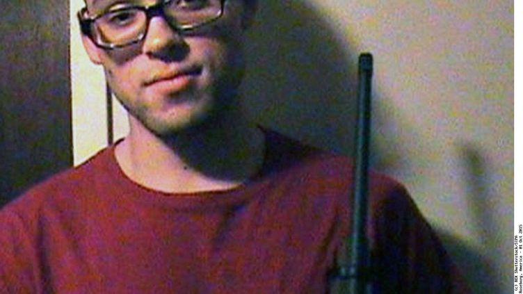 Photo de Chris Harper Mercer, le tireur de la tuerie survenue le 1er octobre 2015 dans une université de l'Oregon (Etats-Unis), qui a fait neuf morts. (REX SHUTTERSTOCK / SIPA)