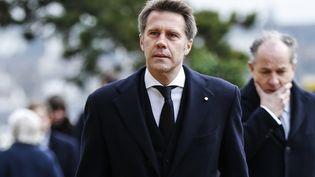 Le princeEmmanuel Philibert deSavoie, le2février 2019, àDreux (Eure-et-Loir). (CHARLY TRIBALLEAU / AFP)