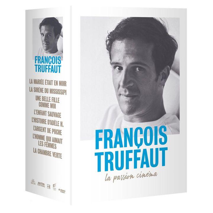 """Le coffret DVD """"François Truffaut - La Passion Cinéma"""". (Arte Vidéo)"""