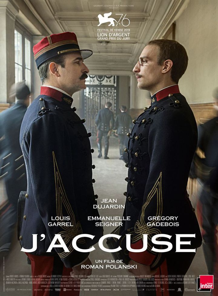 """L'affiche de """"J'accuse"""" de Roman Polanski. (GAUMONT DISTRIBUTION)"""