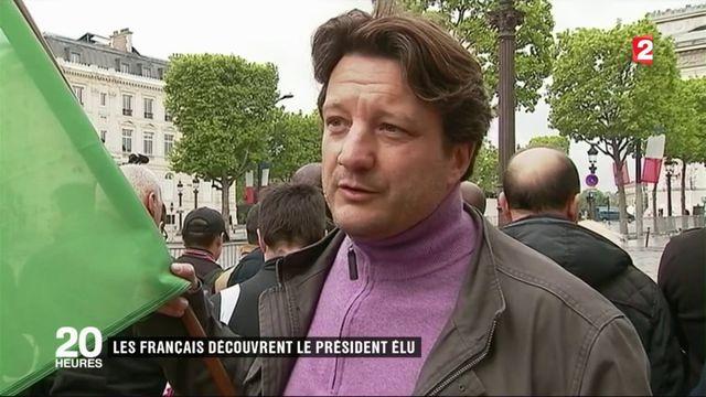 8-Mai : les Français découvrent le président élu