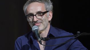 Vincent Delerm, au Fnac Live Festival (Paris), le 20 juillet 2016.  (SADAKA EDMOND/SIPA)