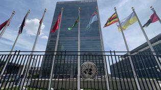 Le bâtiment des Nations unies à New York. (DANIEL SLIM / AFP)