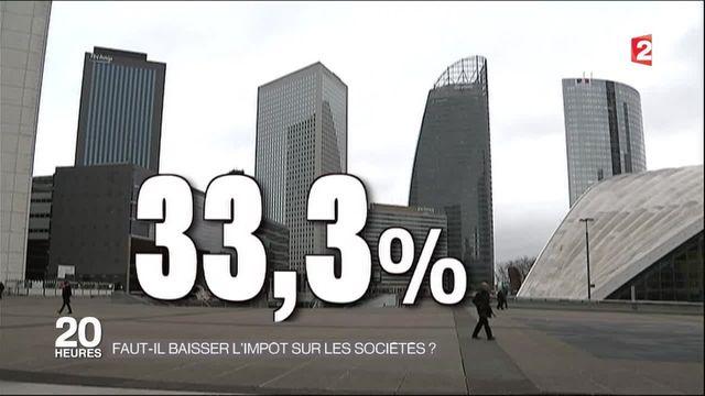 Fiscalité : faut-il baisser l'impôt sur les sociétés en France ?