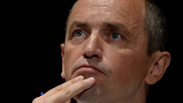 Pierre Larrouturou aux universités d'été du PS, le 24 août 2013 à La Rochelle (Charente-Maritime). (JEAN-PIERRE MULLER / AFP)